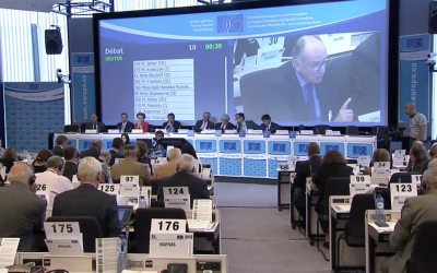 SOLIDAR General Secretary, Conny Reuter, speaks out at EESC