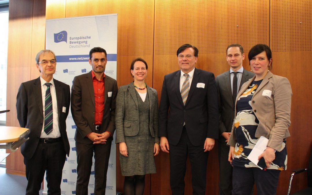 Thiemo Fojkar joins European Movement Event Series on Migration