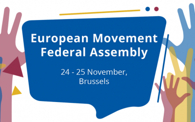 European Movement International elects new president and board