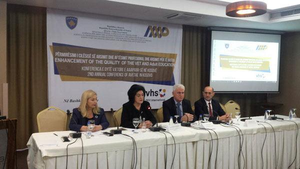 Conference on Quality Improvement in the VET System and AE in Kosovo