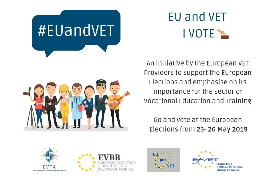 "EU and VET: EU VET providers message to VET learners and workers ""Use your right to vote in the EU elections"""