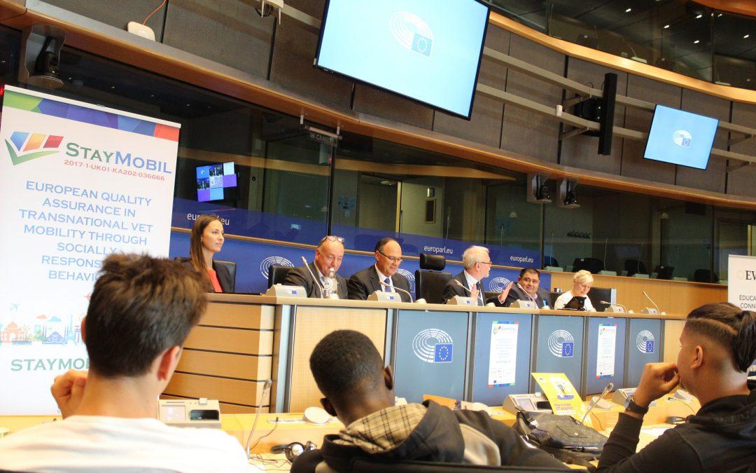 Erasmus+ Staymobil: Final open event in European Parliament