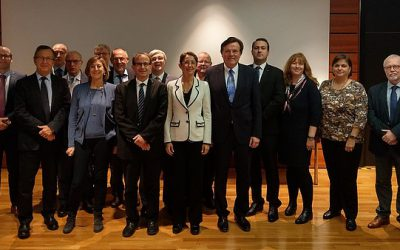 Invited by its member IB, EVBB takes part in the visit of the budget committee of the European Economic and Social Committee (EESC) to the IB in Frankfurt