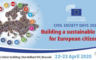 Civil Society Days 2020 – Building a sustainable future for European citizens?