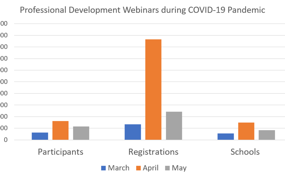 Professional Development Activities: Meeting the Challenges of the COVID-19 Pandemic
