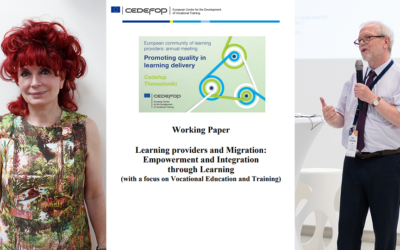 The European community of learning providers: Working Papers published