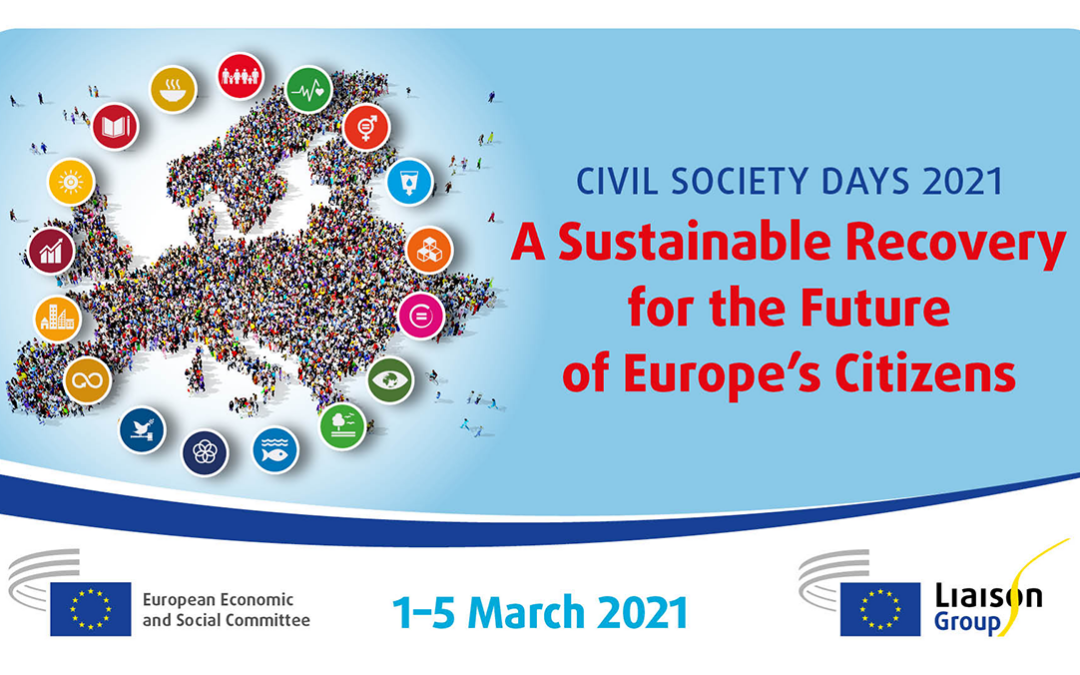 Civil Society Days 2020 – WS3 on 'The role of Education and culture in the sustainable recovery for Europe'