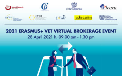 2021 Erasmus+ VET Virtual Brokerage Event (28/04/2021)