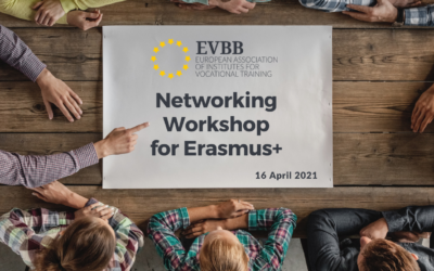 """""""EVBB Networking Workshop for Erasmus+"""" – Members Only – April 16th 2021"""