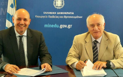 Signature of a 3-year MoC with the Hellenic General Secretariat for VET